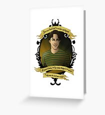 Xander - Buffy the Vampire Slayer Greeting Card