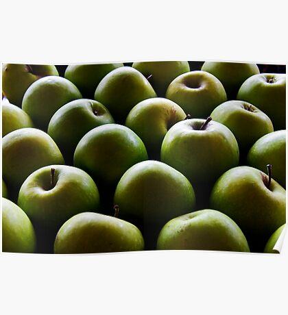 Melting Apples Poster