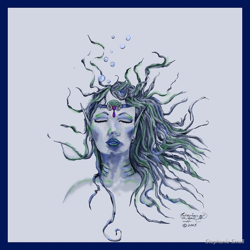 Mermaid Face by Stephanie Small