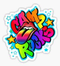 Camp Rocks White  Sticker