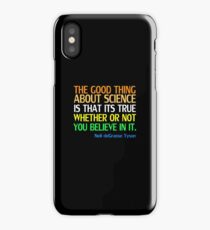 Neil deGrasse Tyson Popular Quote About Science iPhone Case/Skin