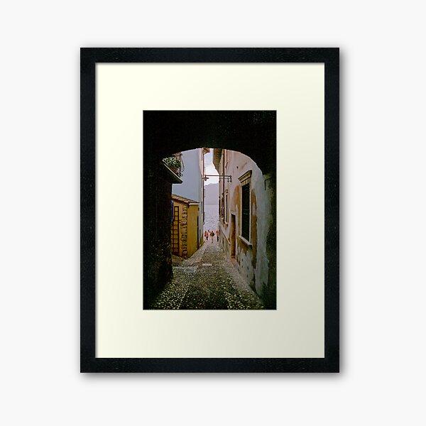 Malcesine (Lake Garda, Italy) Framed Art Print