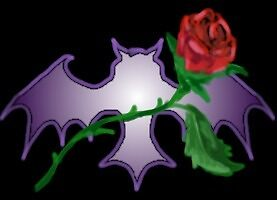 Bat and Rose by Stephanie Small