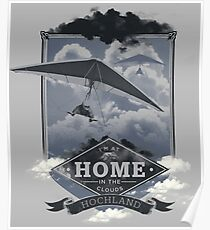 Hochland - In the Clouds Poster