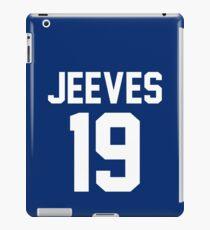 "Jeeves ""19"" Jersey iPad Case/Skin"