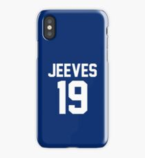 "Jeeves ""19"" Jersey iPhone Case/Skin"