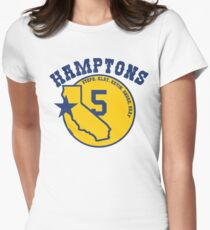 """Golden State """"Hamptons 5""""  Women's Fitted T-Shirt"""