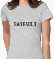 sao paulo Womens Fitted T-Shirt