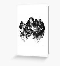 Alpen Mountain Greeting Card