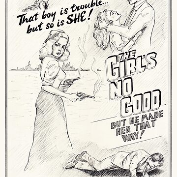 Graphic Novel Art: The Girl's No Good! by fossyboots