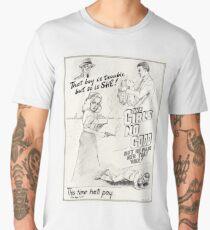 Graphic Novel Art: The Girl's No Good! Men's Premium T-Shirt