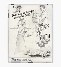 Graphic Novel Art: The Girl's No Good! iPad Case/Skin