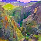 Black Canyon Gunnison National Park by Walter Colvin