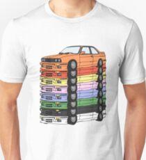 MULTI-COLORED E30(S) T-Shirt