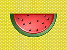Watermelon and Polka Dots by FrankieCat
