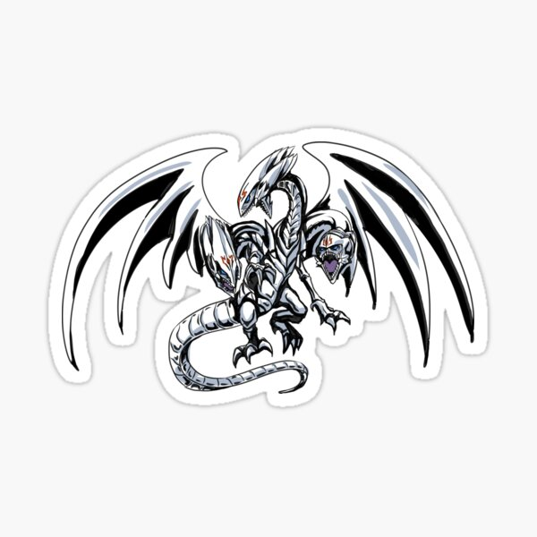 Blue-Eyes Ultimate Dragon Sticker