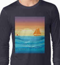 Count On Me Ocean Illustration T-Shirt