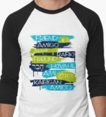 Friends From Other Ends - Blue-Green Theme T-Shirt