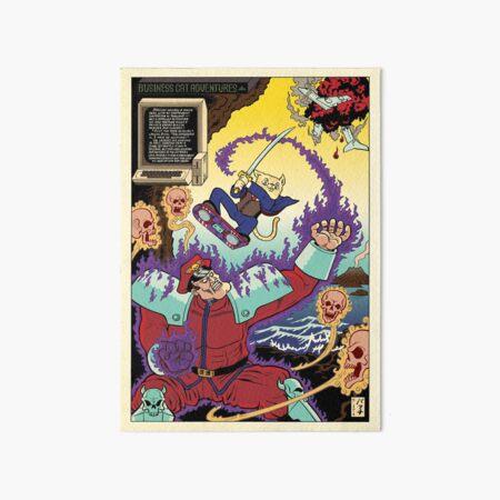 Marconi versus Bison Art Board Print