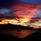 British Virgin Island Sunset by DARRIN ALDRIDGE