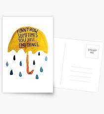 "HIMYM: ""Funny how"" Postcards"