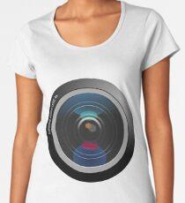 Camera Lens Women's Premium T-Shirt