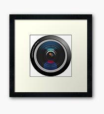 Camera Lens Framed Print