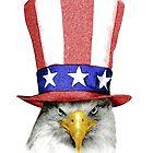 amerikanischer Adler von 24julien