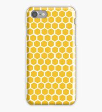 Honey-coloured Honeycombs iPhone Case/Skin