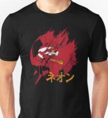 Neon Genesis Unit-02 Evangelion Japanese Katakana T-Shirt