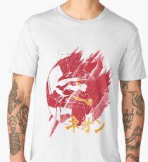 Neon Genesis Unit-02 Evangelion Japanese Katakana Men's Premium T-Shirt