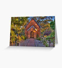 St John's Anglican Church Pinjarra Greeting Card