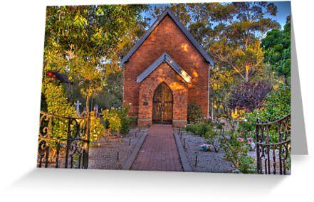 St John's Anglican Church Pinjarra by Peter Rattigan