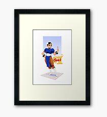 Street fighter 2 - Chun Li Framed Print