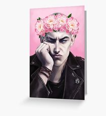 Flower crown Ronan Greeting Card