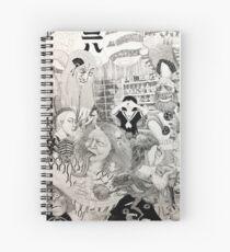 Mononoke Spiral Notebook