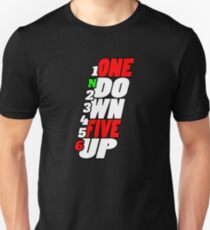 1N23456 One Down Five Up T-Shirt