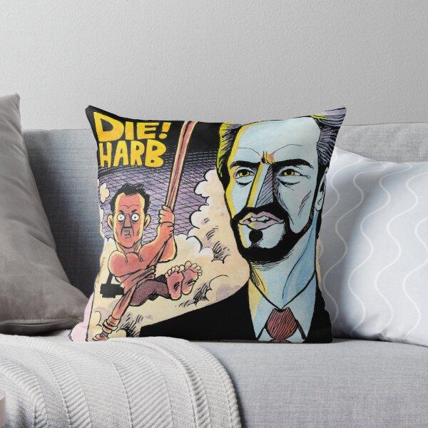 DIE! HARB Throw Pillow