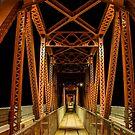 Paringa Bridge by Peter Rattigan