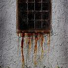 Rusty window by Scott White