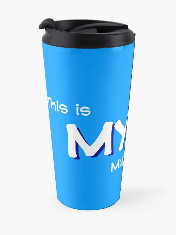 Mug isotherme ''8-OPTIONS.COM - EN - MY MUG - BLUE - 10$ for the Authors': autre vue