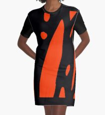 Butterfly Effect Graphic T-Shirt Dress