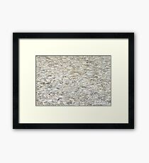 Glitter colored water background Framed Print