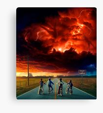 STRANGER THINGS SEASON TWO Canvas Print