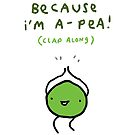 Happy Pea by Sophie Corrigan