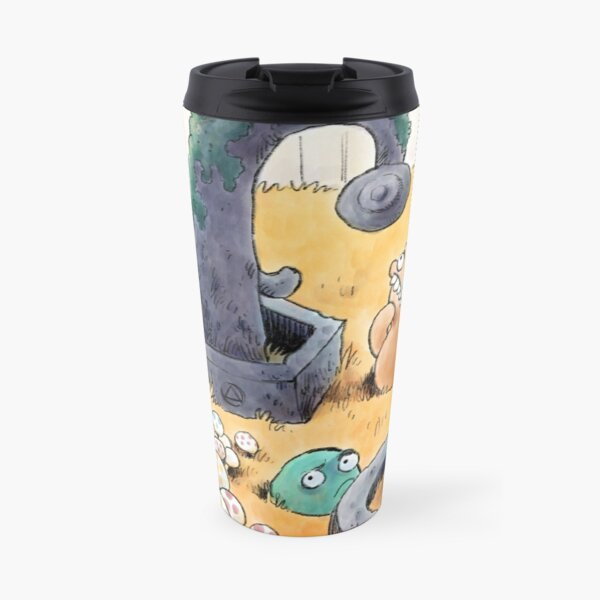 Tobias and Jube and Eyes Travel Mug