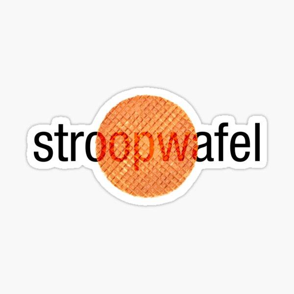 Stroopwafel (Dutch Waffle) Sticker