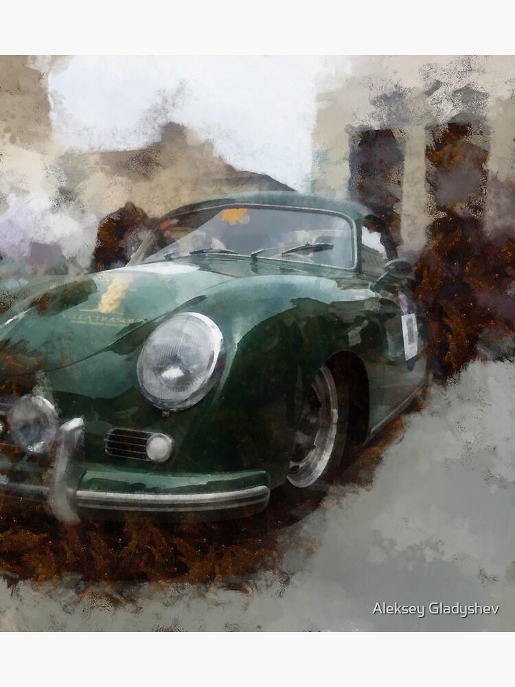 Porsche 356 by aleksey88