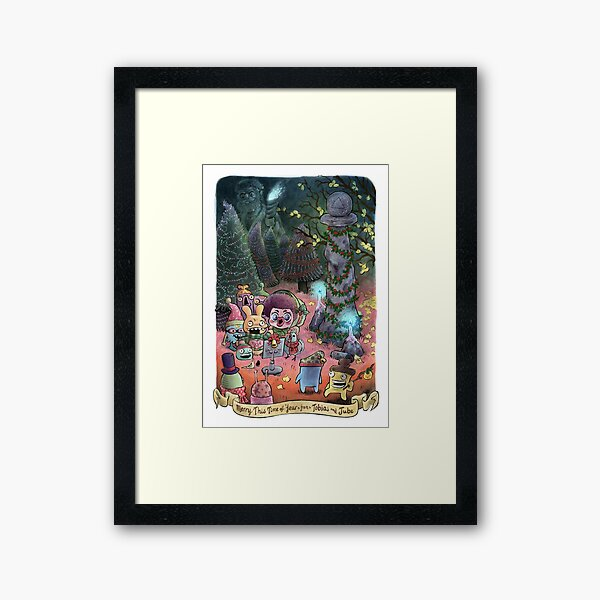 Merry This Time of Year (from Tobias and Jube) Framed Art Print