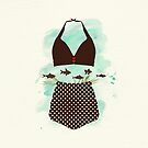The Bikini Series: Polkadot Bikini by Sybille Sterk